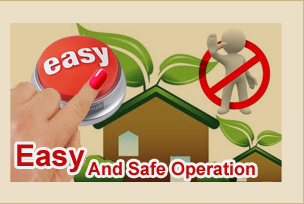Food Waste Disposal - Easy & Safe Operation